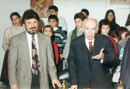 Ο Σ.Καρράς και ο Τ.Φωτόπουλος2
